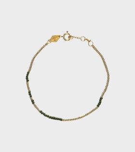 Asym Army Bracelet Green