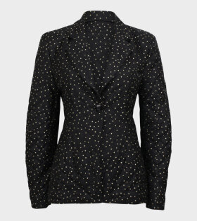 Bente Dot Blazer Black/Gold