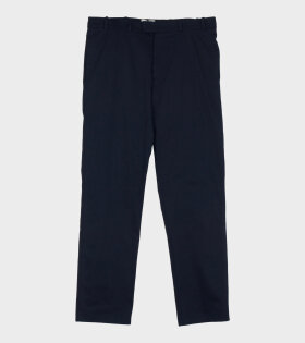 Tonsure Dave Regular Fit Chino Trousers Dark Navy - dr. Adams