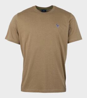Paul Smith Zebra Logo T-shirt Brown - dr. Adams