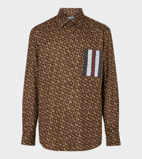 Chatham Bridle Shirt Brown