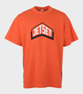 All Star Logo Tee Janet Orange