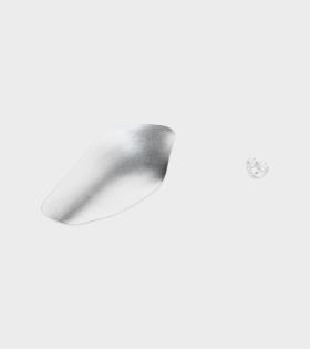 Oli Earring Silver Left
