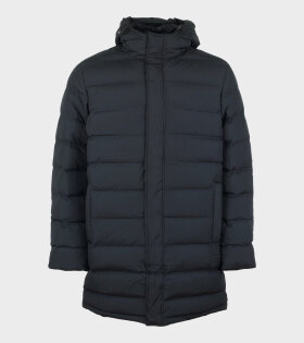 Recycle Jun Long Jacket Black