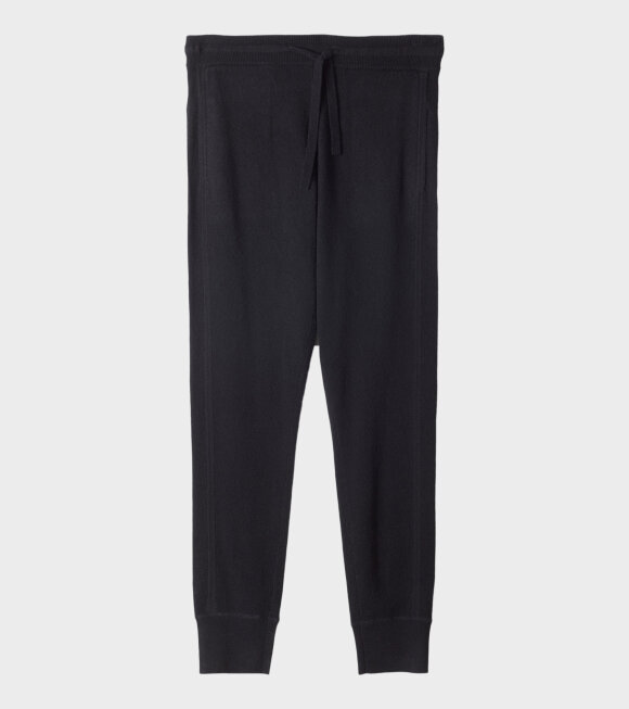 Cashmere Trackpant Black