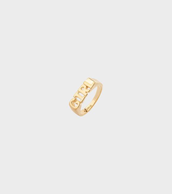 Maria Black - Girl Ring Guld