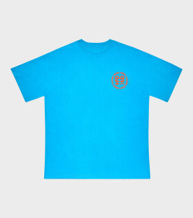 Honey Fucking Dijon Pocket Logo T-shirt Blue - dr. Adams