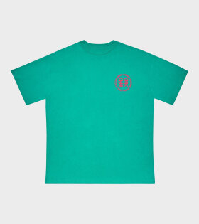 Honey Fucking Dijon Pocket Logo T-shirt Green - dr. Adams
