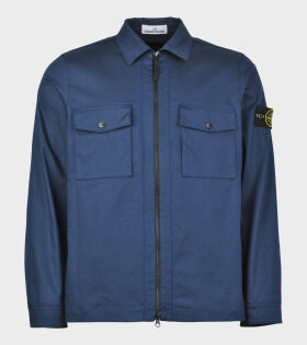 Stone Island Over Shirt Dark Navy - dr. Adams