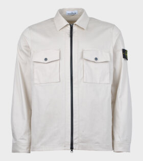 Stone Island Over Shirt Beige - dr. Adams