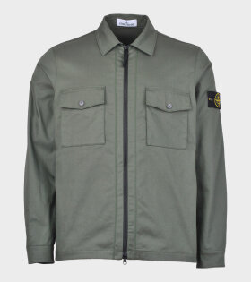 Stone Island Over Shirt Army Green - dr. Adams