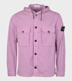 Stone Island Over Shirt Purple - dr. Adams