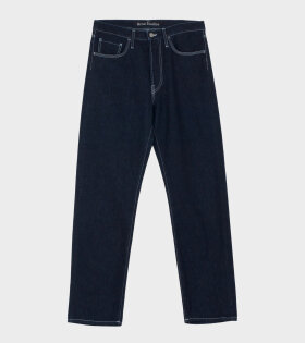 Acne Studios Face-patch Jeans Indigo Blue - dr. Adams