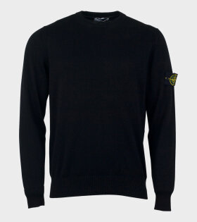 Stone Island Basic Knit Sweater Black - dr. Adams