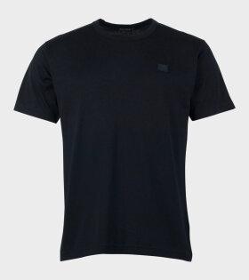 Acne Studios Nash Face T-shirt Black - dr. Adams