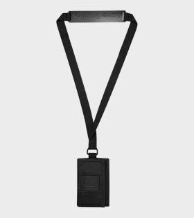Acne Studios Tri-fold Key Holder Black/Brown - dr. Adams