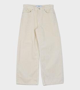Kiri Velvet Trouser Off-White