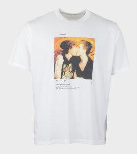 New Box T-Shirt First Kiss White