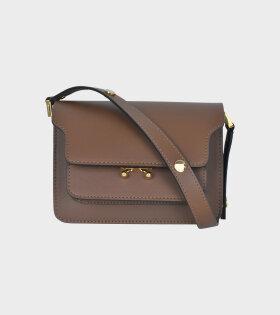 Marni Mini Trunk Bag Brown - dr. Adams