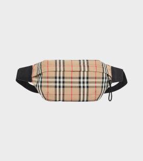 Sonny Bum Bag Checkered Beige