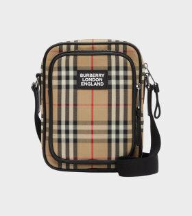 Freddie Bag Checkered Beige