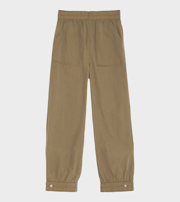 Ganni - Tech Pants Ermine Brown