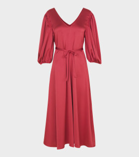 Marlen Sheen Cady Dress Red