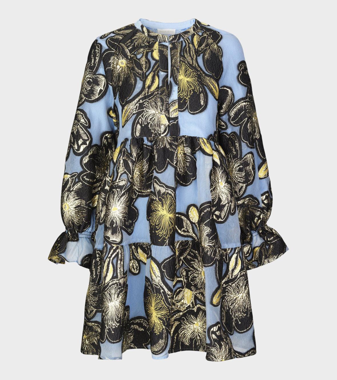 Stine Goya Ivana Organza Kjole i Jasmine Gold