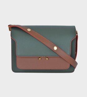 Medium Trunk Bag Green/Brown/Yellow