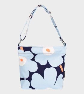 Marimekko Venni Pieni Unikko Bag Blue - dr. Adams