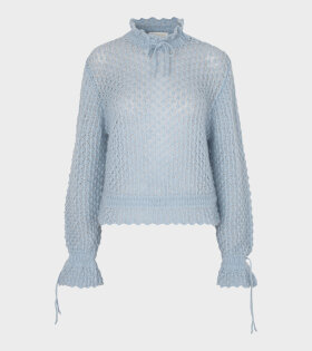 Stine Goya Peace Knit Blue - dr. Adams