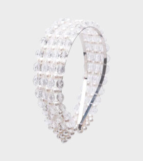 Quinn Headband Pearls White