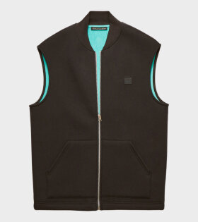 Foley Face Vest Blac/Green