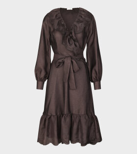 Stine Goya Steffi Dress Mocha Brown - dr. Adams