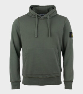 Patch Hoodie Army Green