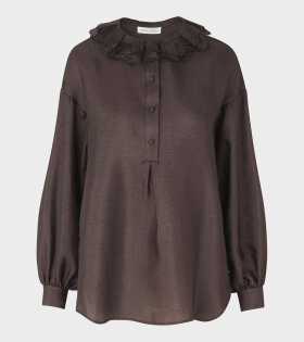 Stine Goya Tom Shirt Mocha Brown - dr. Adams