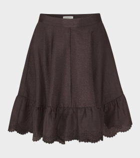 Stine Goya Toy Skirt Mocha Brown - dr. Adams