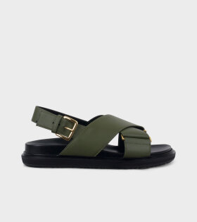 Fussbett Shoe Army Green