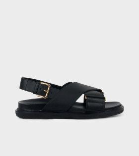 Fussbett Shoe Black