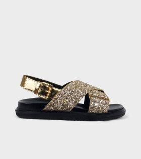 Fussbett Shoe Gold