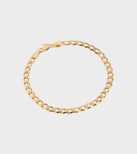Forza Bracelet Small Gold