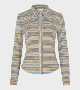 Stine Goya Jana Shirt Stripes Blue - dr. Adams