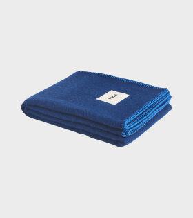 Tekla Pure Wool Plaid Blue/Blue - dr. Adams
