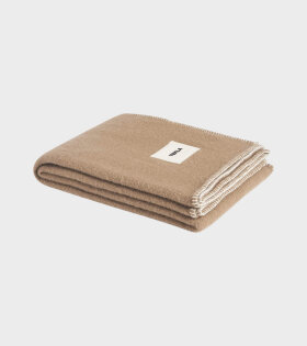 Tekla Pure Wool Plaid Camel/Brown - dr. Adams