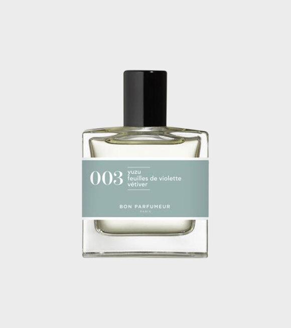 Bon Parfumeur - EDP #003 30 ml
