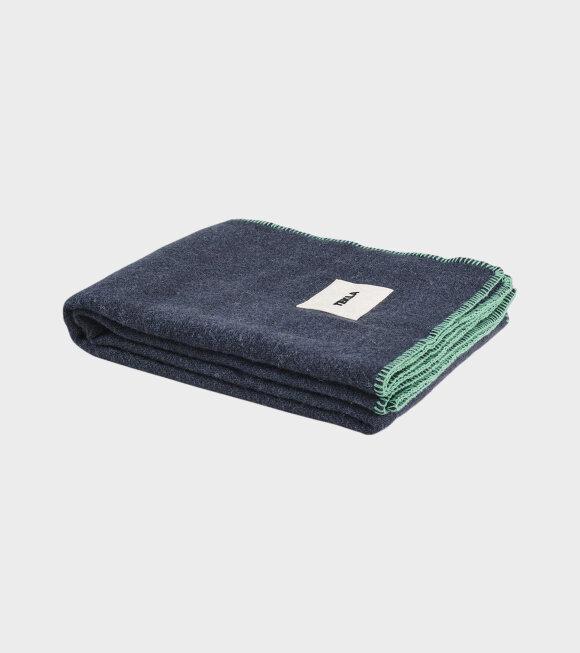 Tekla - Pure New Wool Blanket Charcoal Grey