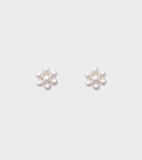 Shrimps Lola Earrings White - dr. Adams