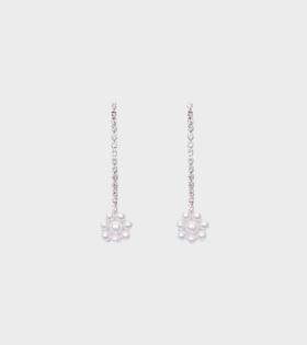 Shrimps Jasmine Earrings Cream/Silver - dr. Adams