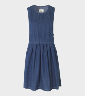 Dalia Soft Indigo Dress Blue