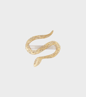 Stine Goya Snake Hair Clip Yellow - dr. Adams